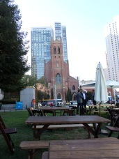 St. Patrick Church est. 1872 near Yerba Buena Gardens