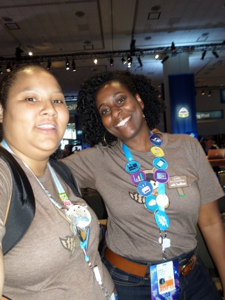 My Homie Toya Gatewood and Me