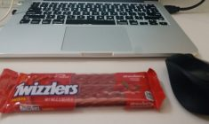 My Daily Tools: Twizzlers, Laptop & a Mouse