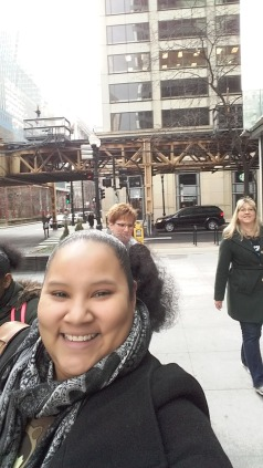 Lake & LaSalle - On Our Way to Class - February 11, 2017